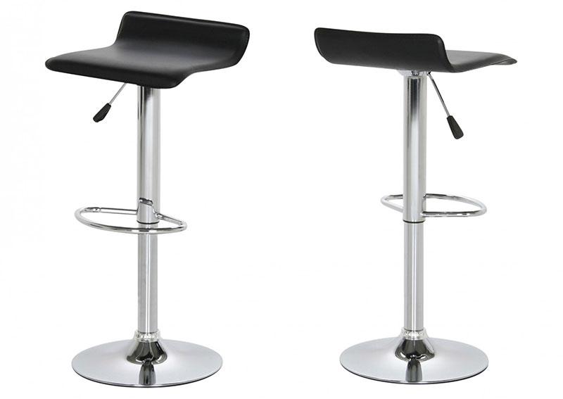 scaun-bar-tapitat-negru